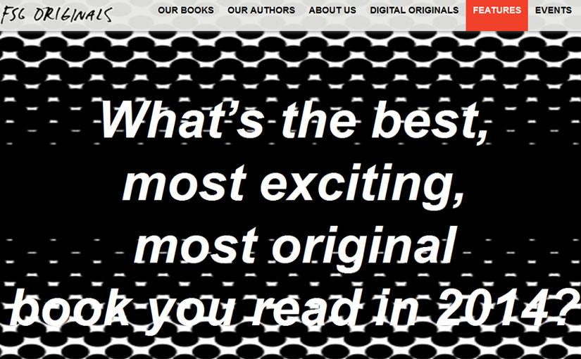 FSG - best books you read in 2014