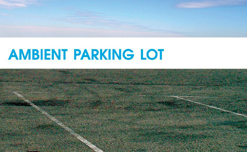 MUDD UP BOOK CLUBB: Pamela Lu's Ambient Parking Lot