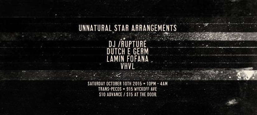 NYC SHOW: UNNATURAL STAR ARRANGEMENTS